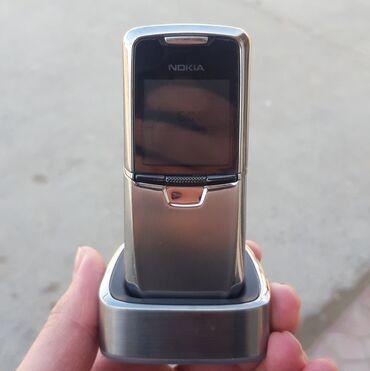 nokia 8800 gold в Азербайджан: Nokia 8800 silver