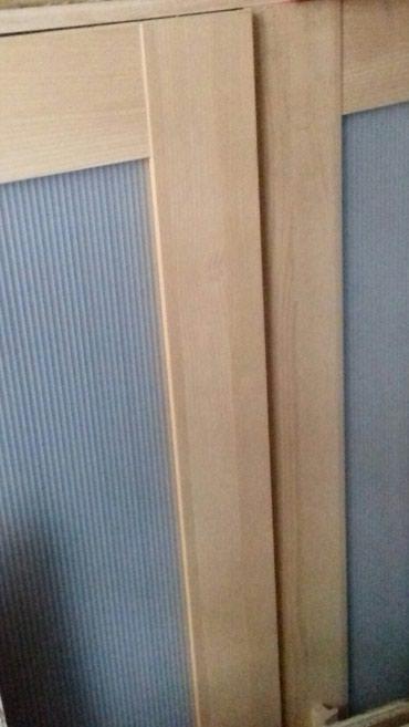 Ντουλάπα δυο φυλλα σε χρώμα και ξύλο Σημυδα Υ180 Β50 Π81 σε άριστη