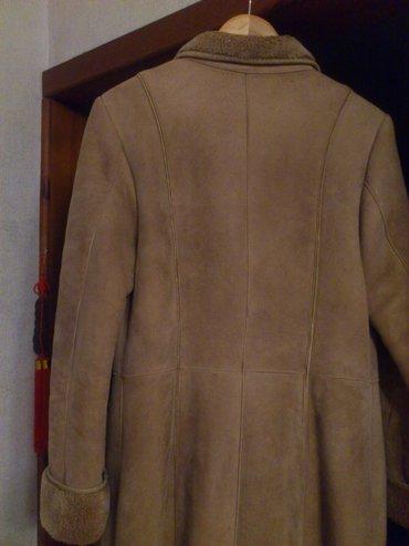 продается женская дубленка, размер 46-48, длина 116 см. цена 7500 сом в Бишкек