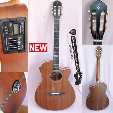 Tagima Vegas Mahogany - - YENİ elektro klassik gitara. çanta və şnur