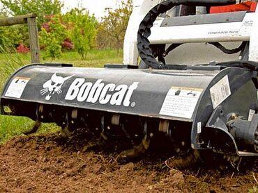 Kultivator Bobcat Qoşqusu-GidravlikaAmerika Bobcat istehsalıdir Super