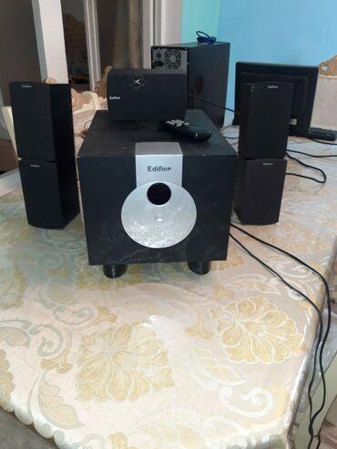 Səsgücləndirici və qəbuledicilər - Azərbaycan: Edifer kalonkalar Akustik ses effekti Tele nodbuka dvd ye qosulur
