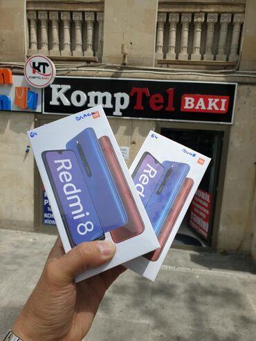 square-box-xiaomi в Азербайджан: Новый Xiaomi Redmi 8 64 ГБ Голубой