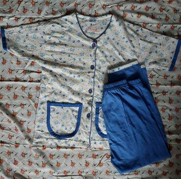 Детский мир - Каракол: Новая ХБ пижама костюм для детей 5-7 лет,в зависимости от роста