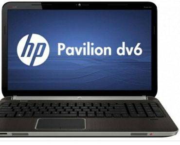 Bakı şəhərində Notebook HP Pavilion dv6