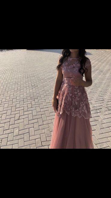 платье в пол на выпускной в Кыргызстан: Сдам в аренду вечернее платье в пол. Сшила на заказ, размер M L. В иде