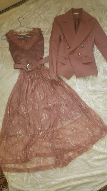 Новое турецкое платье. Длина миди,очень нежная юбка . Цвет пудра