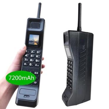2-ci-əl-telefonlar - Azərbaycan: 2019 YENİ real 7200mAh Powerbank Super Böyük Cib telefonu Lüks Retro