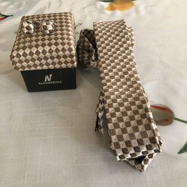Фирменный галстук с запонками!Турция! в Бишкек