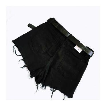 Короткие черные шорты размер s