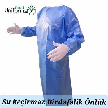 65 elan | TIBBI GEYIM: Birdəfəlik önluk su keçirməyən
