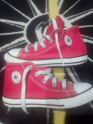 Converse all star κοκκινα μποτακια νουμερο 26 16.5 εκατοστα. σε Thessaloniki