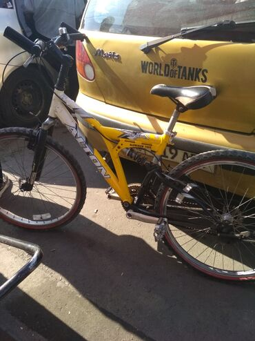 Спорт и хобби - Джалал-Абад: Корея Спортивный велосипед.Состояние отличное.26 колеса.Алюминиевые