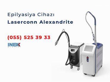"""aleksandrit lazer - Azərbaycan: """"Bu ayın sonunadək Laserconn Aleksandrit Lazer Epilyasiya cihazı"""