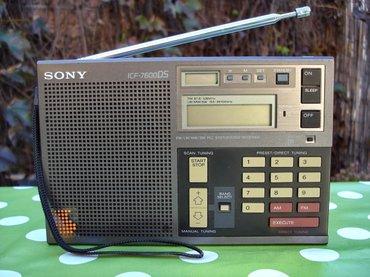 Tranzistor - Srbija: Vrhunski radio tranzistor, ili tačnije world band receiver