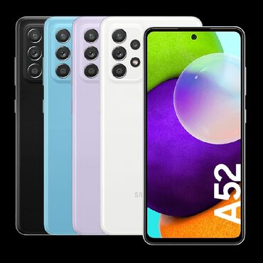 1057 elan: Samsung Galaxy A52 | 256 GB | Ağ | Sensor, Barmaq izi, İki sim kartlı