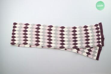 Дитячий шарф з ромбами Only, One size    Довжина: 198 см Ширина: 24 см