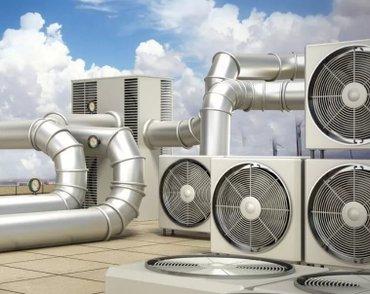 Вентиляция и кондиционирования воздуха любой сложности в Бишкек