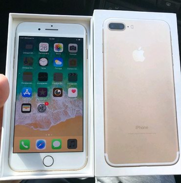 Iphone 7+ 32gb коробка доки все есть в Бишкек