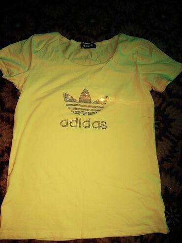 Футболка женская жёлтый цвет 250 сом