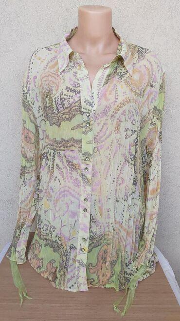 Košulje i bluze | Pozarevac: Zanimljiva kosulja prelepih boja uzivo lepsaDuzina 72cmGrudi