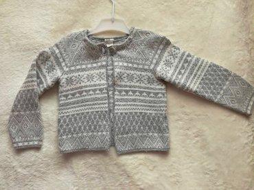 HiM džemper za devojčice.Veličina 80.Uzrast 9-12 meseci.Nošen par - Beograd