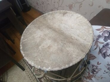 Барабаны - Азербайджан: Nagara.temiz ceyran derisinden