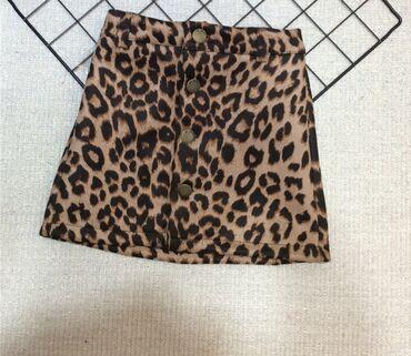 Леопардовая юбка для девочки 4-5 лет.  Одевали 3-4 раза
