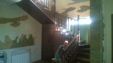 Лестницы из масива карагач дуб шпон от 150 дол за ступень в Бишкек