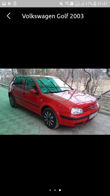 Volkswagen Golf 2003 в Баткен