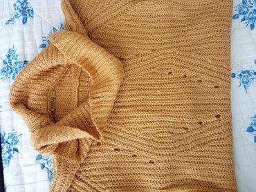 Žuti džemper 46 vel.  Tunika džemper 46 vel. Obučen je jednom u toku t
