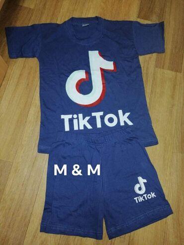 Dečiji Topići I Majice | Borca: 4, 12, 14. 900 dinara tik tok kompletici