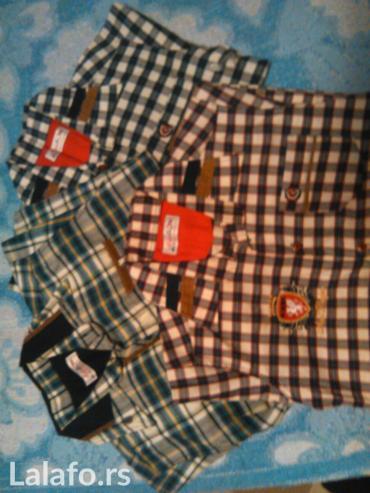 Komplet od 3 veoma kvalitetne i punije dečije košuljice bez ikakvih - Nis