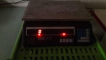 б у кухни в Кыргызстан: Весы электронные б/у