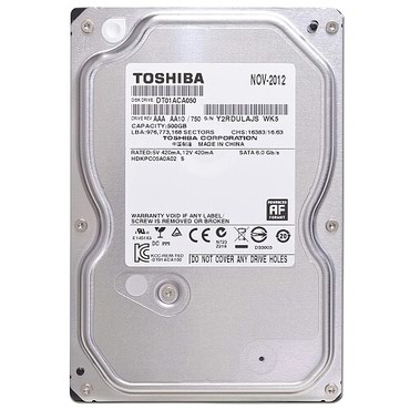 Bakı şəhərində HDD Hard Disk Original New(Teze)