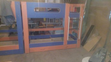 Мебель на заказ в Бишкек: Двухъяростьный кровать все расветки есть  доставка установка