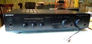 ses güçlendirici - Azərbaycan: Ses guclendirici SONY TA-FE500R STEREO Hi-Fi.Ela veziyyetde.160