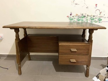 Vintage Solid Wood Table 110x50x80cm σε Egaleo