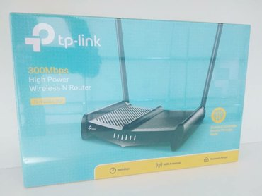 Tp-Link 2 anten Router 85aznYani şunurla alıb wifiylə ötürürTL-WR841HP