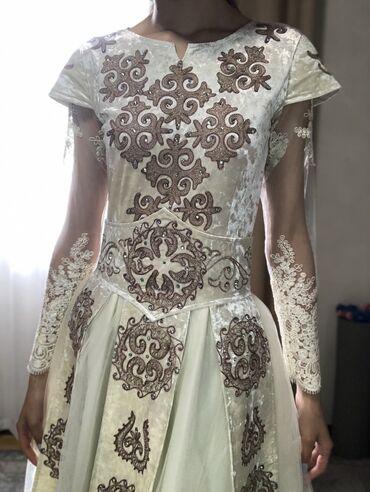 Национальное платье платье на кыз узатуу. (Пышное, можно под платье