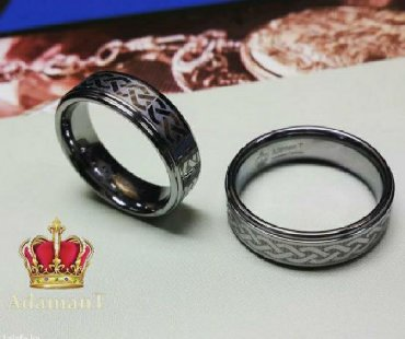 чёрное кольцо из вольфрама в Кыргызстан: Кольца из вольфрама за одно кольцо