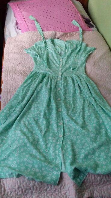 Женская одежда в Джалал-Абад: Летнее платье брала за 1500 одевала один раз, продаю так как не подош