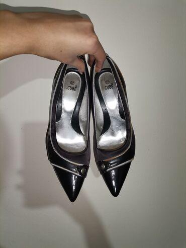 Cube, prelepe cipele, Očuvane Broj 37 Gaziste 22.5 cm