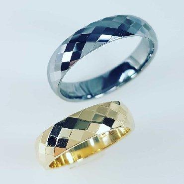 """Чёрные кольца из вольфрама - Кыргызстан: Парные кольца из вольфрама """"зеркало"""" 3500сом. И женское золото"""