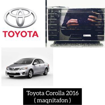 Islenmis telefonlarin satisi - Азербайджан: Toyota Corolla 2016 - yeni maqnitafon.----Kia Sorento ucun istediyiniz