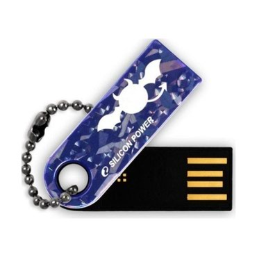 флешка-usb в Кыргызстан: Флешка Silicon Power 2GB Touch 820 USB 2.0 Blue Современные флешки