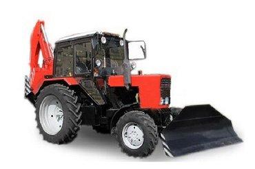 экскаватор-бульдозер предназначен для механизации земляных работ в в Араван