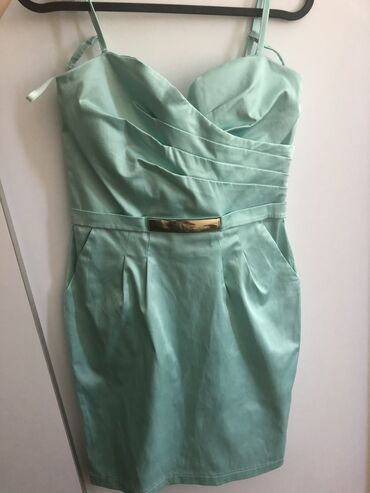 Haljina za svecane prilike, mint zelena, velicina 38