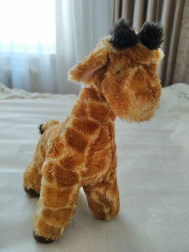 Продаю мягкую игрушку жирафа. Мягкие игрушки Бишкек6 мкр Заходи в