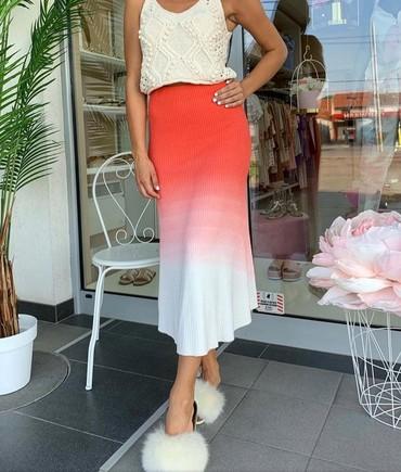 Suknja-hm-pamuk-elastin-cm-struk - Srbija: Divna suknja fantastičan kvalitet i model uvoz Turska pamuk-elastin